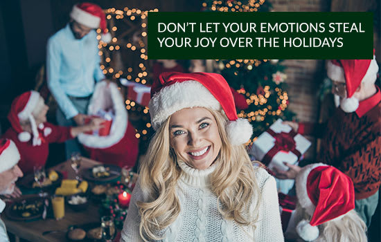 Don't Let Your Emotions Steal Your Joy Over the Holidays,Marshall Connects