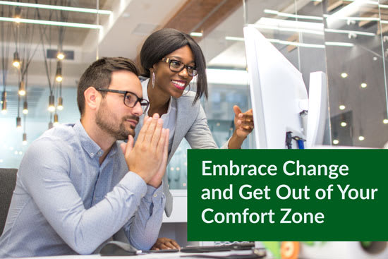 Embrace Change and Get Out of Your Comfort Zone, Marshall Connects