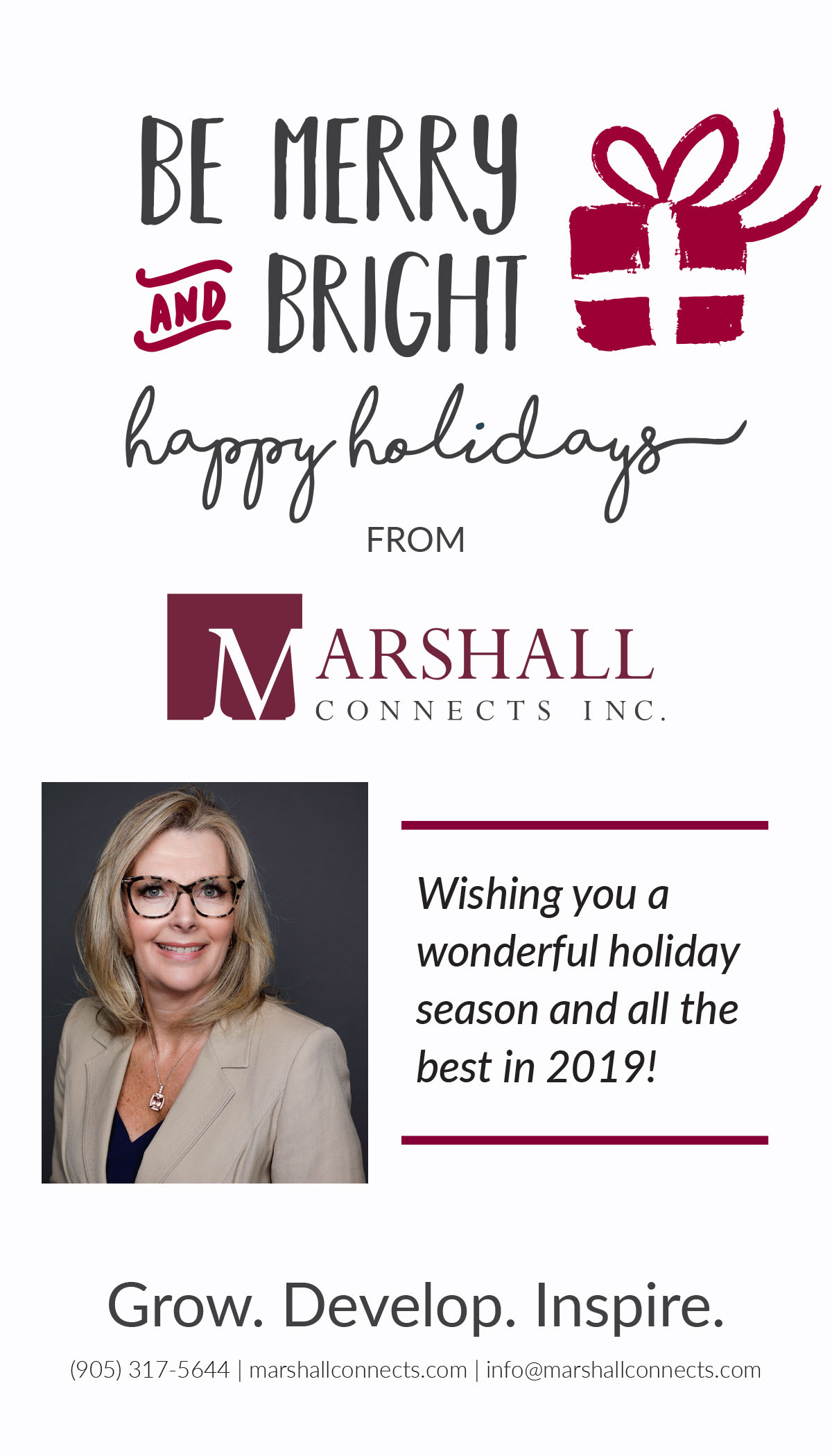 Season's Greetings From Marshall Connects