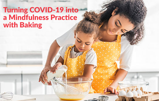 Turning COVID-19 into a Mindfulness Practice With Baking, Marshall Connects