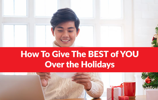 How To Give The BEST of YOU Over the Holidays, Marshall Connects
