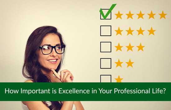 How Important is Excellence in Your Professional Life? Marshall Connects