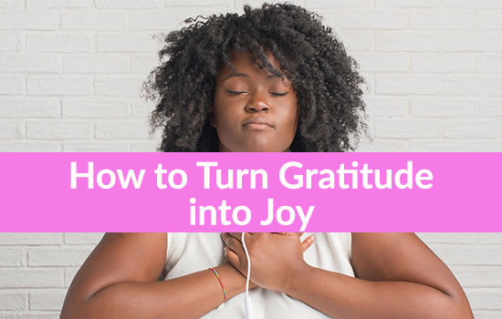 How to Turn Gratitude into Joy, Marshall Connects