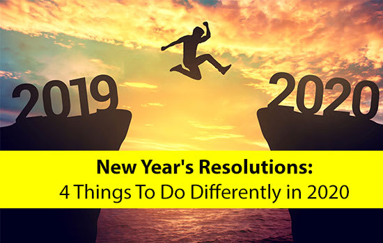 New Year's Resolutions: 4 Things To Do Differently in 2020, Marshall Connects