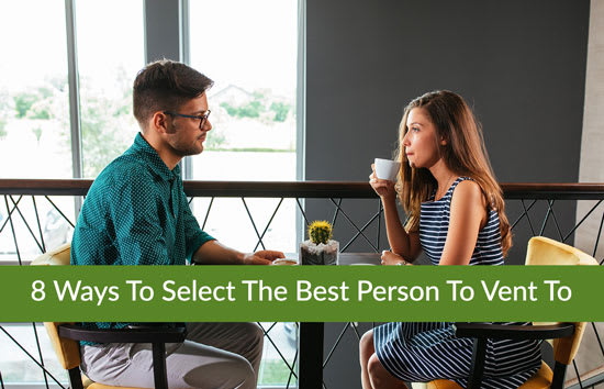 8 Ways To Select The Best Person To Vent To, Marshall Connects