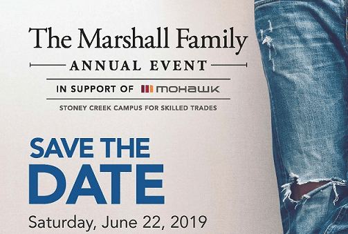 Annual Marshall Benefit event
